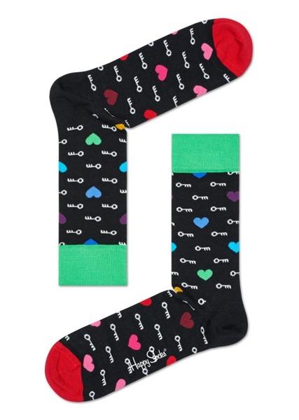 Giftbox (3-pak) skarpetki Happy Socks XHEA08-9000