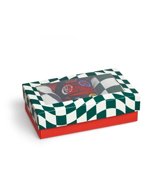 Giftbox (3-pak) skarpetki Royal Enfield Happy Socks XRE08-1000