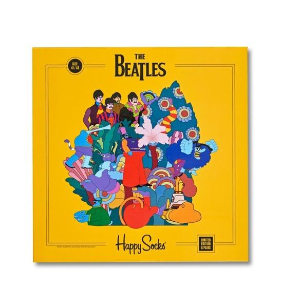 Giftbox LP (6-pak) skarpetki The Beatles x Happy Socks XBEA10-2000