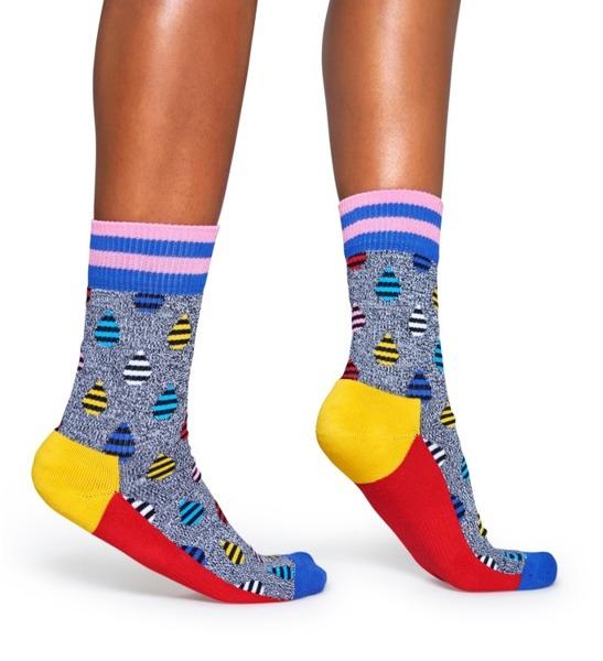 Skarpetki ATHLETIC Happy Socks ATDRO27-9000