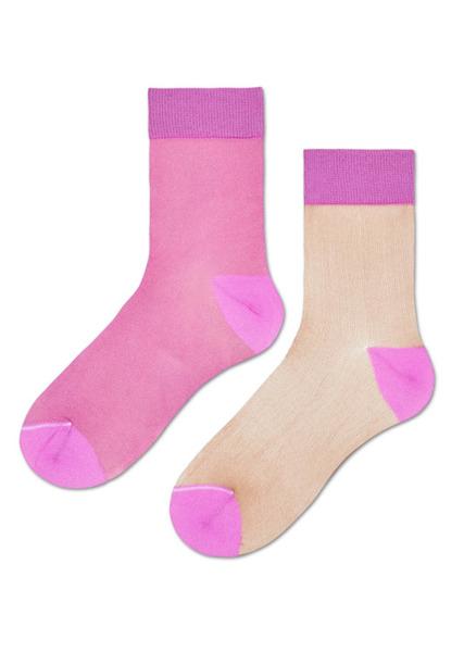 Skarpetki HYSTERIA Filippa Nylon Ankle Sock (SISFIL53-3000)