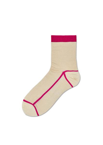 Skarpetki HYSTERIA Lily Rib Ankle Sock SISLIL12-8000