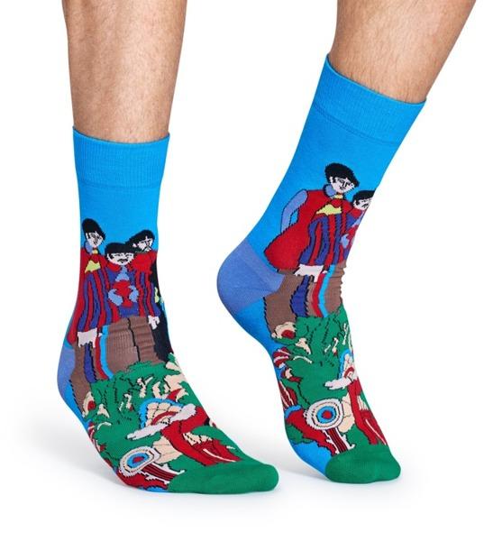 Skarpetki Happy Socks x The Beatles (50th Anniversary) BEA01-7000